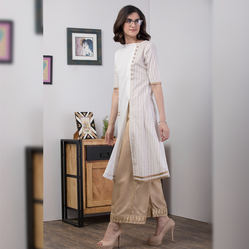 With Ethnic Bottoms - for Formal Look